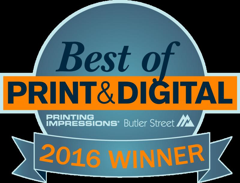 Winner Best of Print & Digital