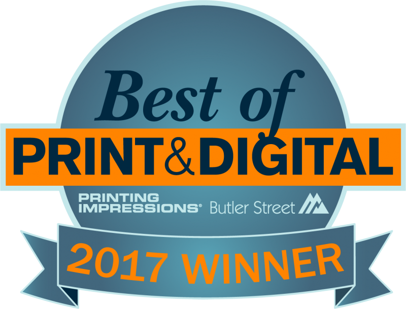Winner Best of Print & Digital 2017