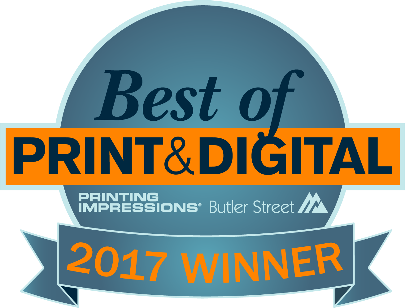 Winner Best of Print & Digital 2017