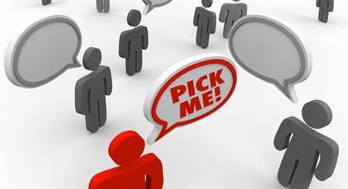 Distinctiveness is a salesperson's main weapon.