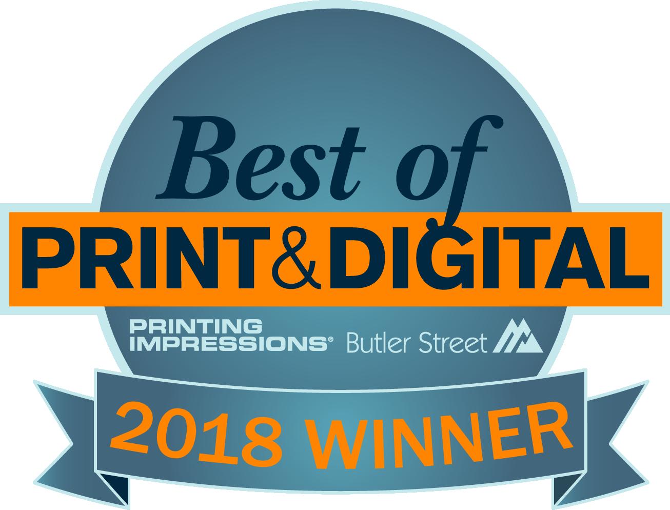 Best of Print & Digital 2018