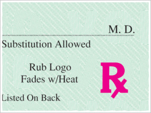 Heat Sensitive Rx Symbol